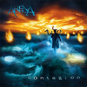 Arena - Contagion CD (album) cover