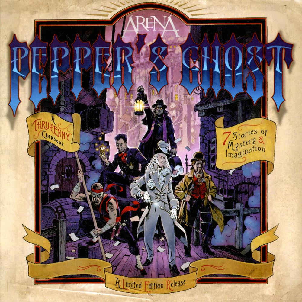 Arena - Pepper's Ghost CD (album) cover