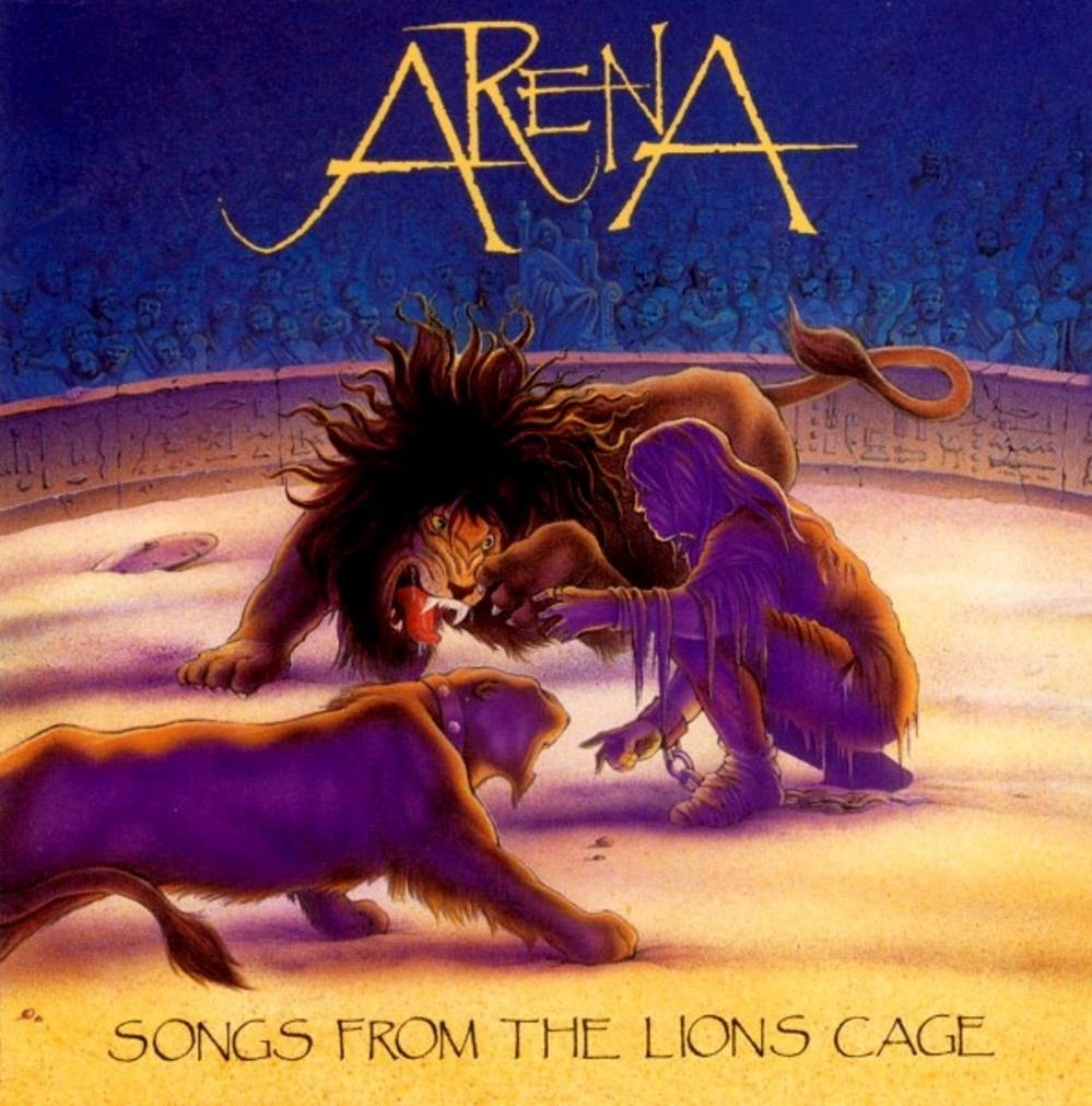 Arena - Songs from the Lion's Cage CD (album) cover
