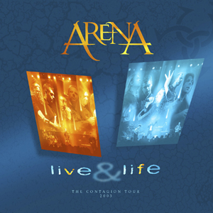 Live & Life  by ARENA album cover