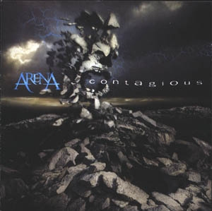 Arena - Contagious CD (album) cover