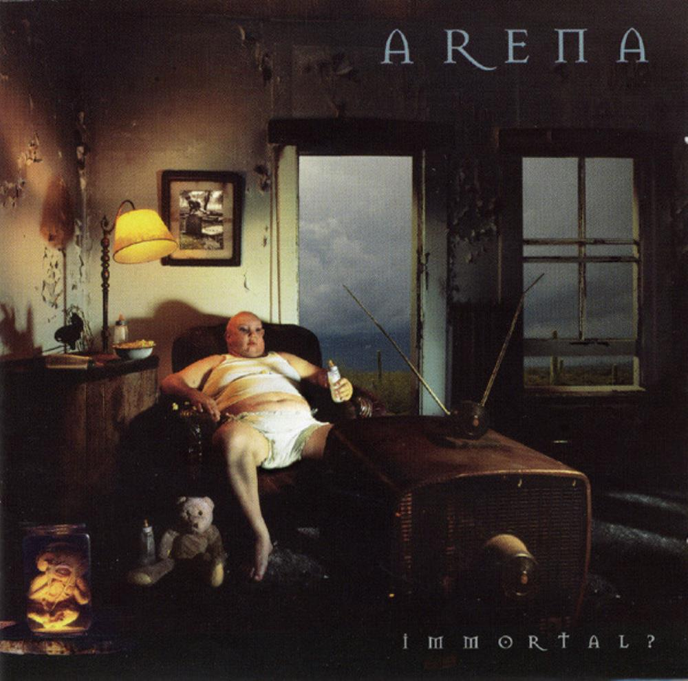 Arena - Immortal? CD (album) cover