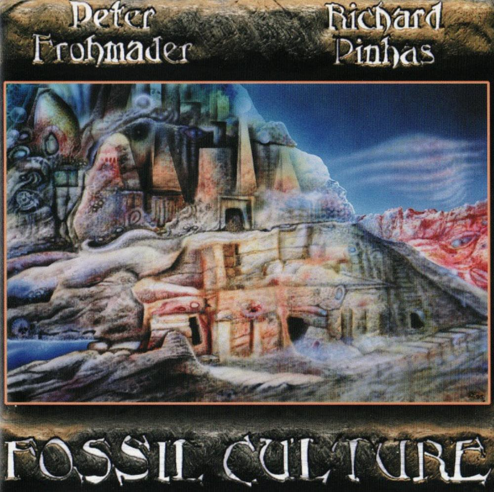 Peter Frohmader - Peter Frohmader & Richard Pinhas: Fossil Culture CD (album) cover