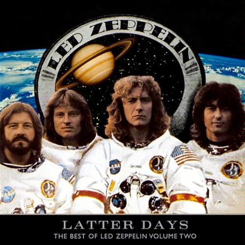 Led Zeppelin Latter Days: The Best of Led Zeppelin Volume Two album cover