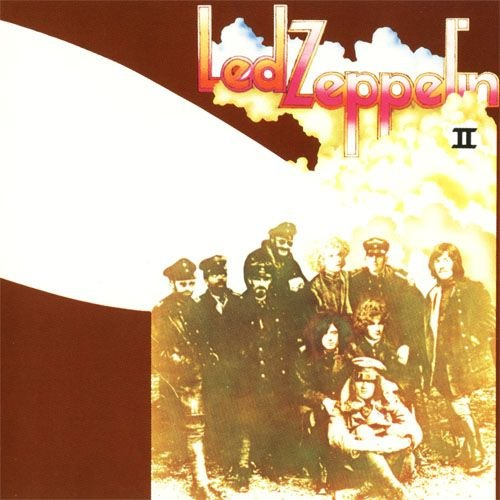 Led Zeppelin - Led Zeppelin II CD (album) cover