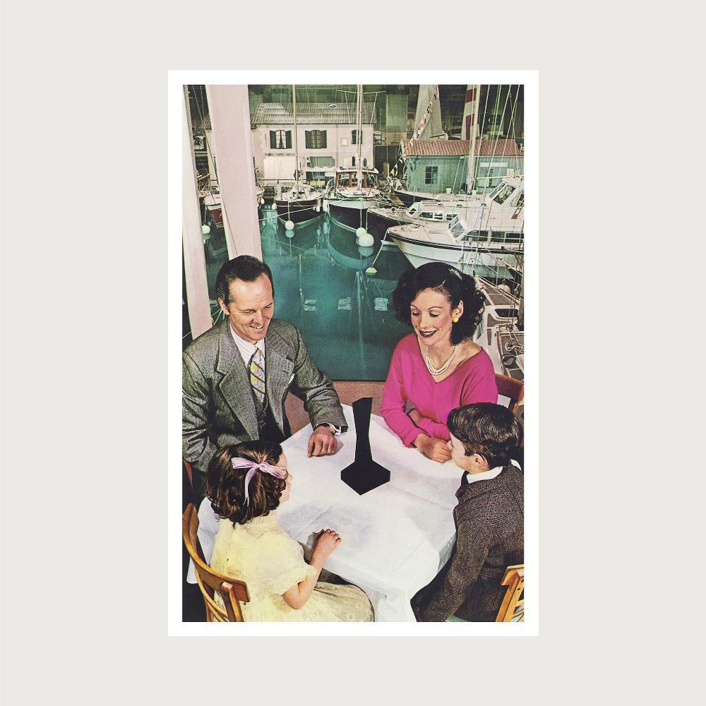 Presence by LED ZEPPELIN album cover