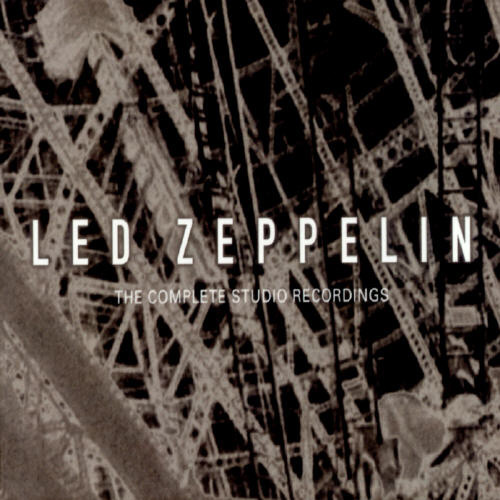 Led Zeppelin The Complete Studio Recordings album cover