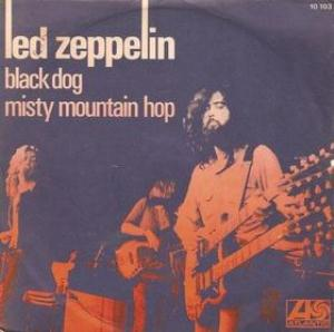 Led Zeppelin - Black Dog/Misty Mountain Hop CD (album) cover