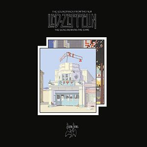 Led Zeppelin The Soundtrack From The Film The Song Remains The Same album cover