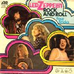 Led Zeppelin Rock And Roll / Four Sticks album cover