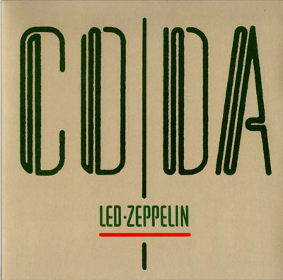 Coda by LED ZEPPELIN album cover
