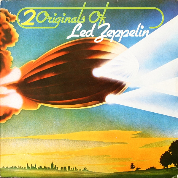Led Zeppelin Ii Album Cover Led zeppelin 2 originals of