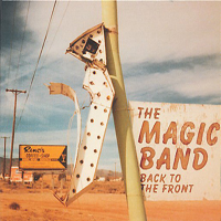 The Magic Band Back To The Front album cover