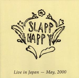 Slapp Happy Live in Japan album cover