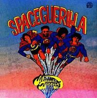 Space Guerilla by MISSUS BEASTLY album cover