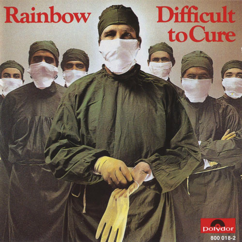 Rainbow Difficult To Cure album cover