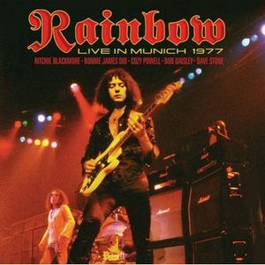 Live In Munich 1977 by RAINBOW album cover