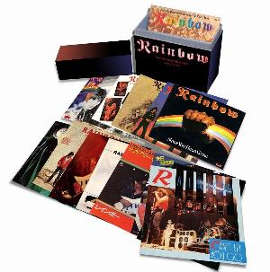 Rainbow The Singles Box Set 1975-1986 album cover