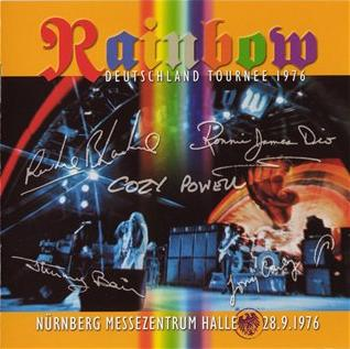 Rainbow - Live in N�rnberg 1976 CD (album) cover