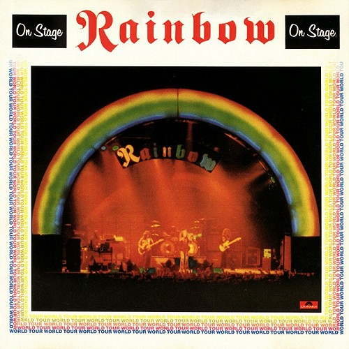 Rainbow On Stage album cover