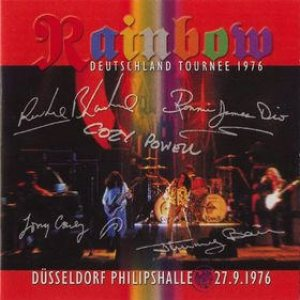Rainbow Live D�sseldorf Philipshalle 1976 album cover