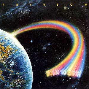 Down To Earth by RAINBOW album cover