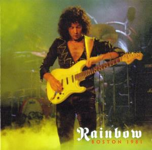 Rainbow - Boston 1981 CD (album) cover