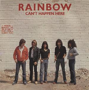 Rainbow Can't Happen Here  album cover