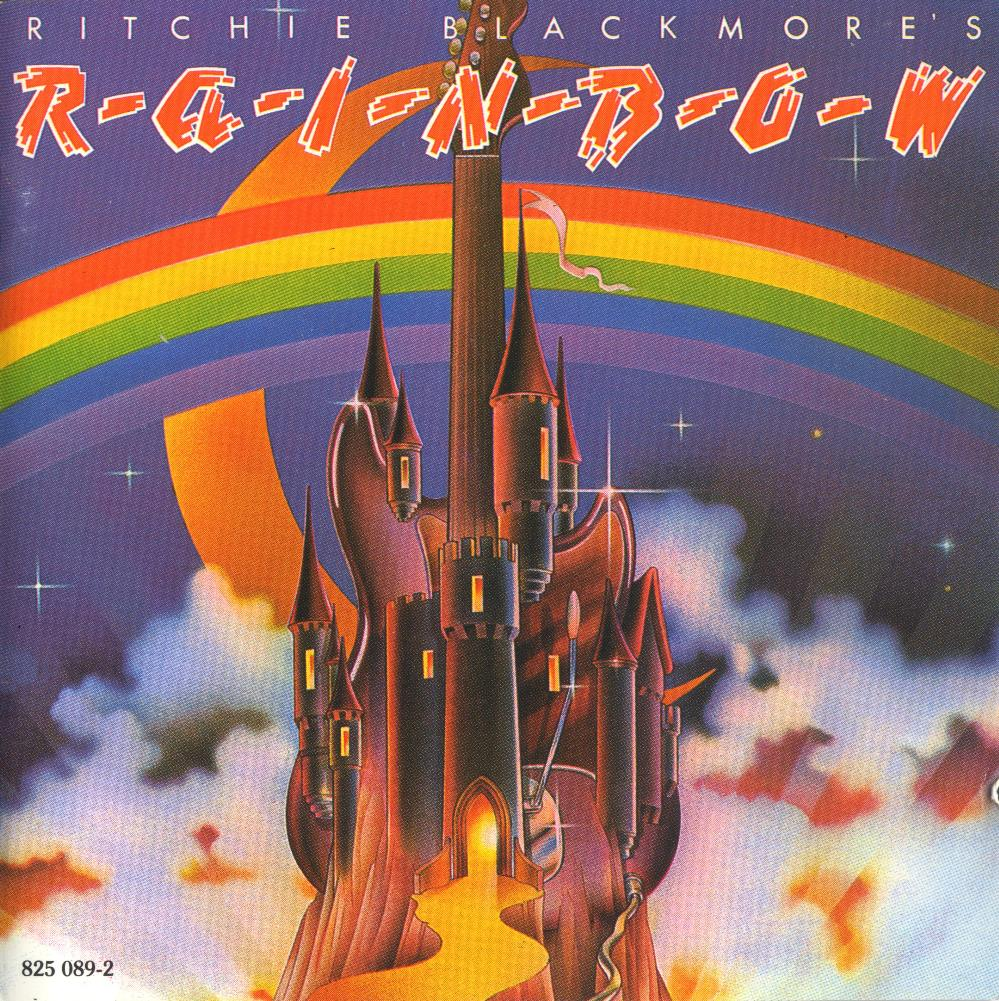 Ritchie Blackmore's Rainbow by RAINBOW album cover