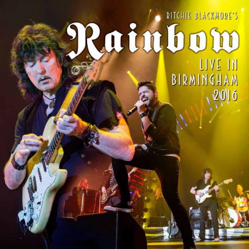 Live In Birmingham 2016 by Rainbow album rcover
