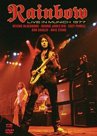 Rainbow Live In Munich 1977 (DVD) album cover