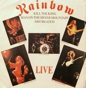 Rainbow Live (Kill The King) album cover