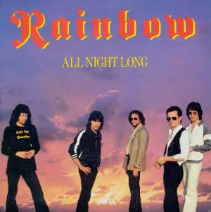 Rainbow All Night Long album cover