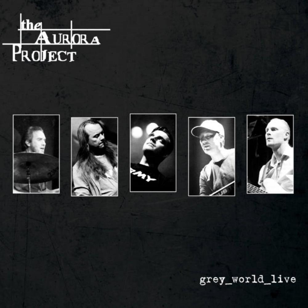 The Aurora Project - grey_world_live CD (album) cover