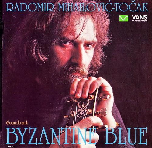 Byzantine Blue by MIHAJLOVIC TOCAK, RADOMIR album cover