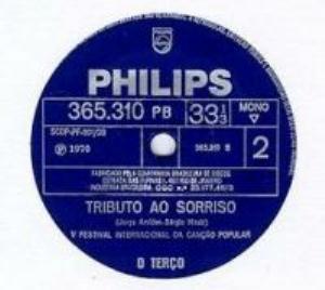 Velhas Estórias by TERÇO, O album cover