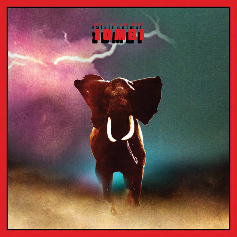 Zombi - Spirit Animal CD (album) cover