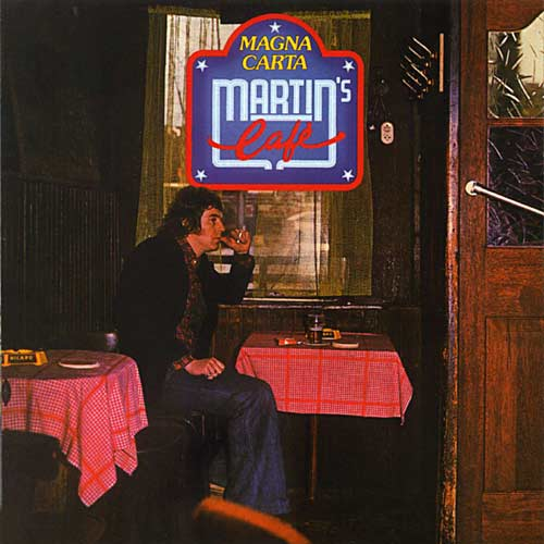 Magna Carta - Martin's Cafe CD (album) cover