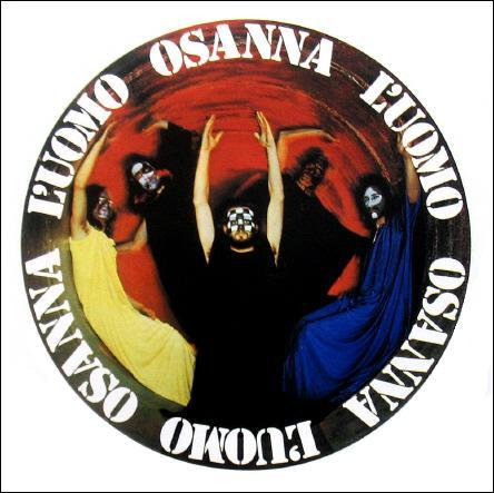 L'Uomo by OSANNA album cover
