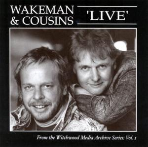 Wakeman And Cousins Live 1988 by COUSINS, DAVE album cover