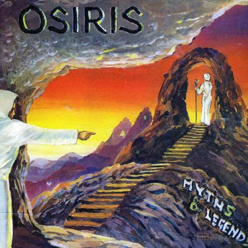 Osiris - Myths & Legends CD (album) cover