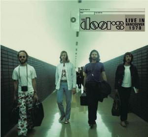 The Doors Live In Vancouver 1970 album cover