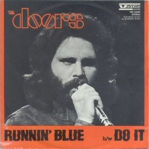 The Doors Runnin' Blue album cover
