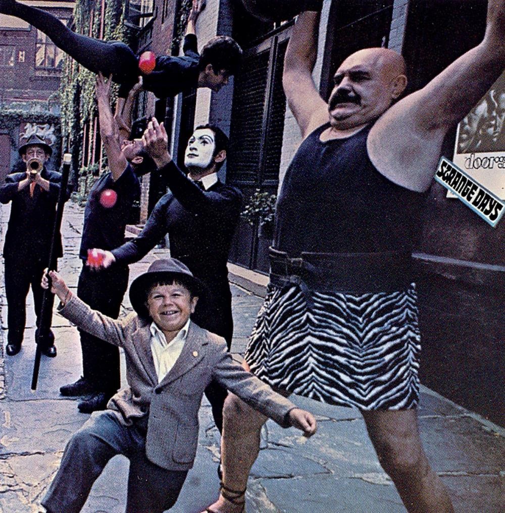 Strange Days by DOORS, THE album cover