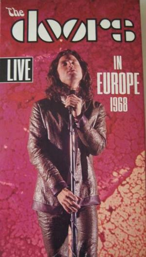 The Doors Live In Europe 1968 album cover