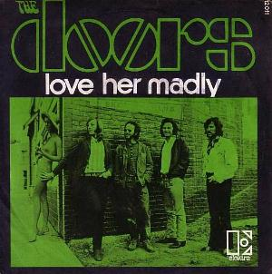 The Doors - Love Her Madly CD (album) cover
