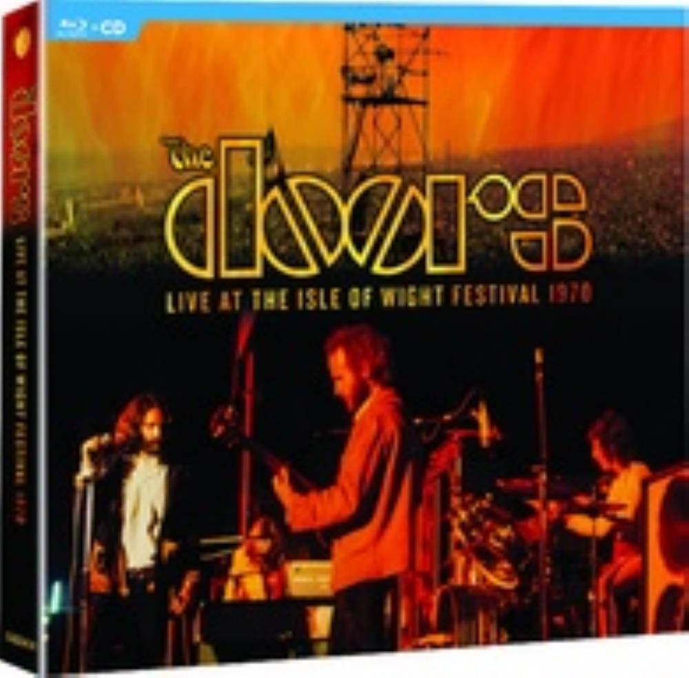 The Doors Live at the Isle Wight Festival 1970 album cover