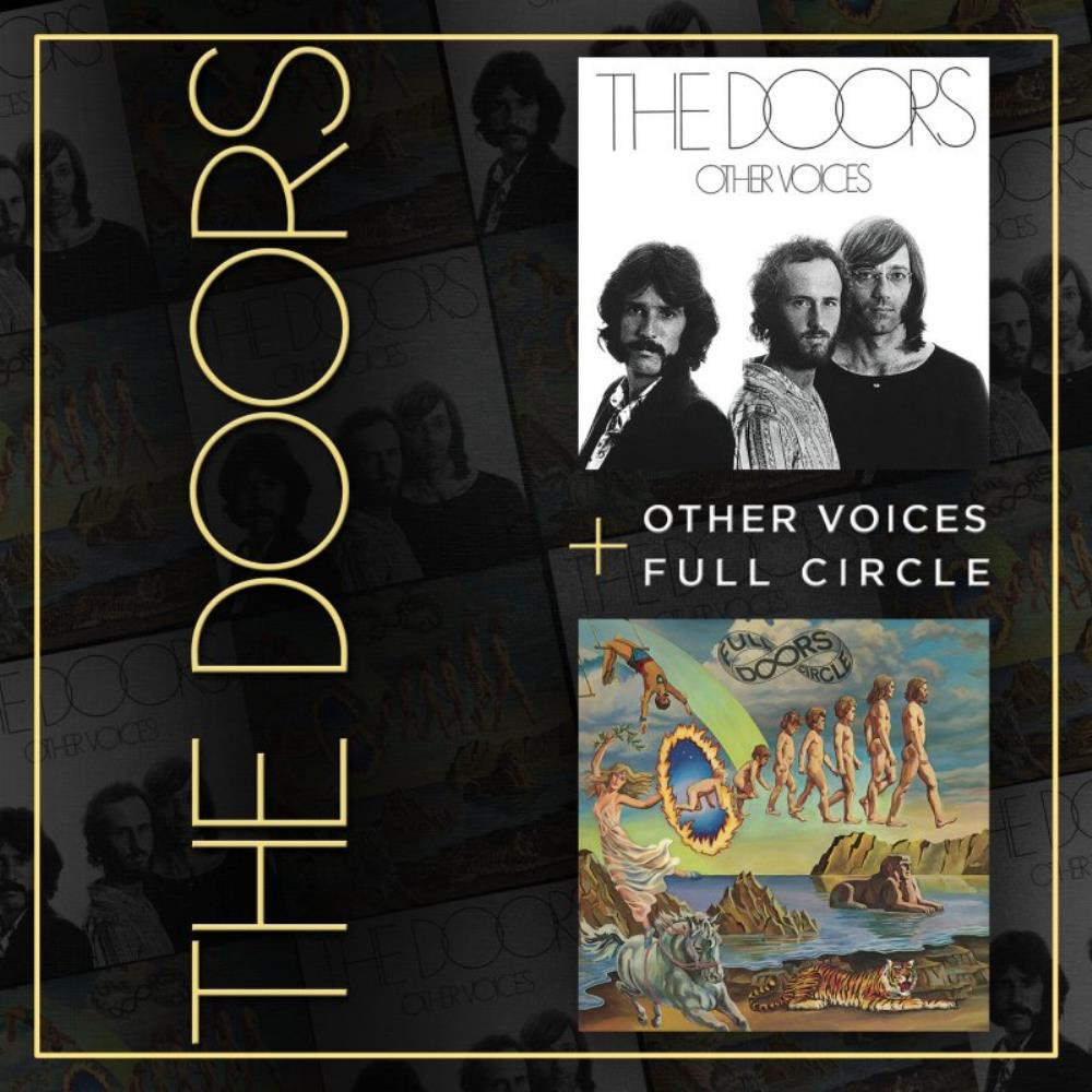 Other Voices / Full Circle by DOORS, THE album cover