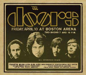 The Doors Live In Boston 1970 album cover