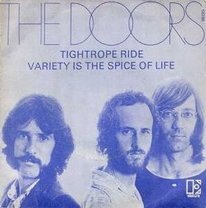 The Doors Tightrope Ride album cover